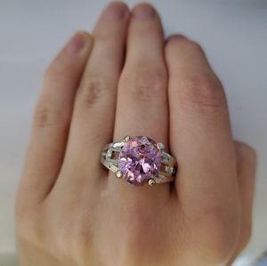 New Gorgeous Pink Wedding Ring